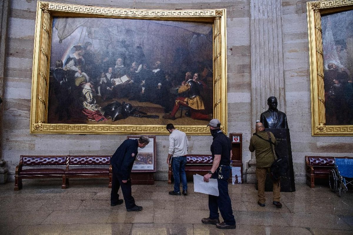Michigan painter 'Vango' charged for taking part in Capitol riot