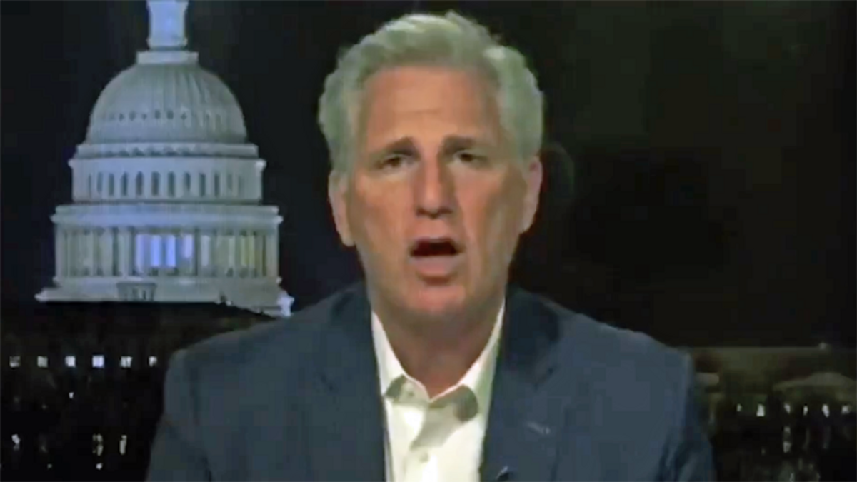 WATCH: The Lincoln Project blisters Kevin McCarthy for inciting insurrection by Trump supporters