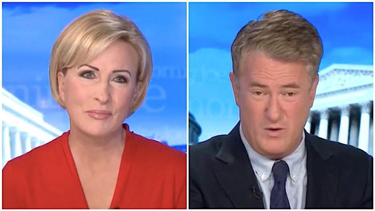 MSNBC's Morning Joe and Mika still not used to a White House not staffed by white nationalists