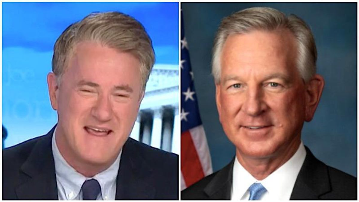 MSNBC's Morning Joe brutally mocks GOP's Tommy Tuberville for claiming ignorance of 'Qanon lady'