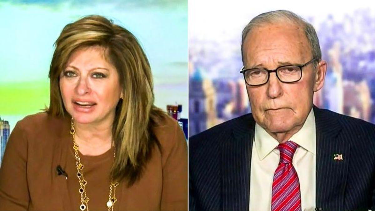 'Is he alert or not alert?' Maria Bartiromo and Larry Kudlow smear Joe Biden's mental fitness