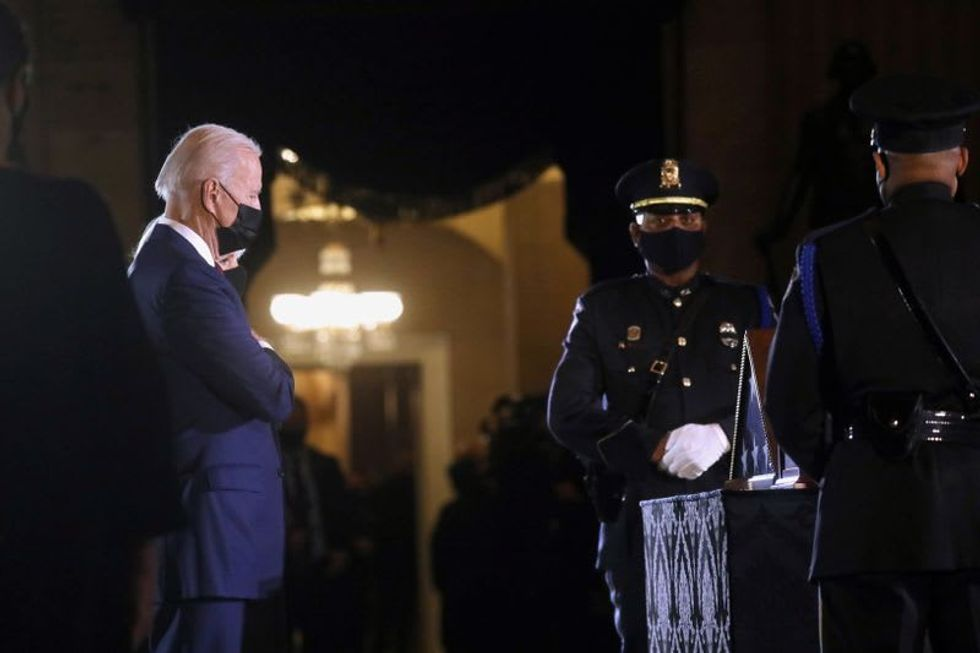 Biden tells congressional Democrats he would consider limits on who gets COVID-19 checks