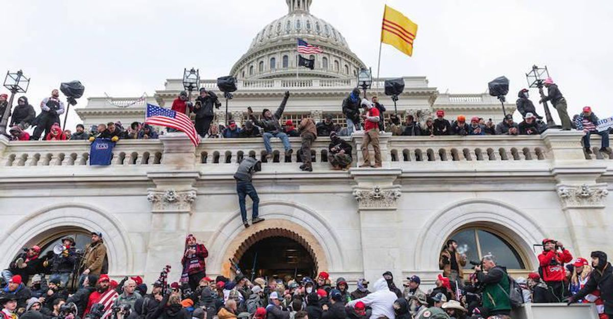 BUSTED: Feds arrest California QAnoner who stormed the Capitol -- after coworker turned him in