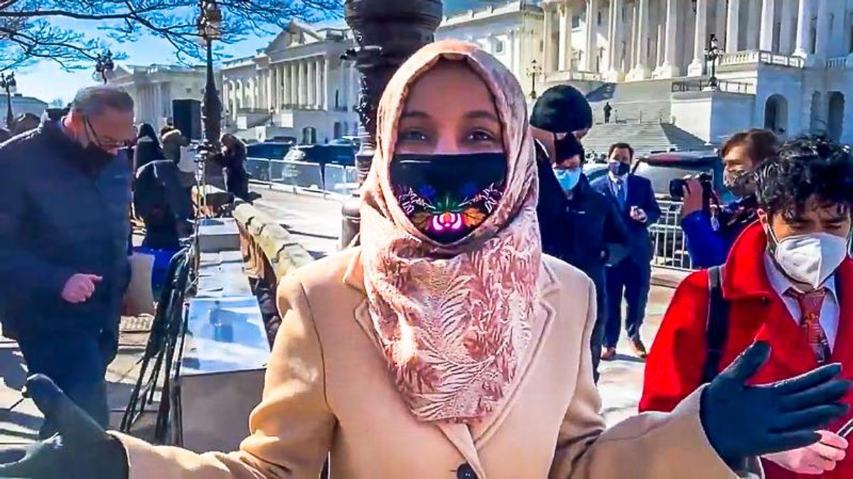 WATCH: Ilhan Omar slams 'racist' GOPers who tried to take her down in retaliation for Marjorie Taylor Greene