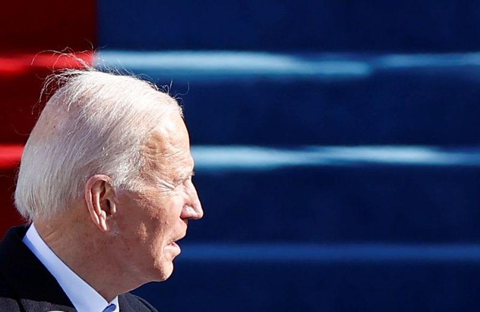 Hidden message found on Biden's new White House website
