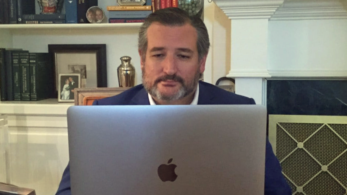 'His OWN FRIENDS hate him': Shock after Cruz text messages leaked to the NYT