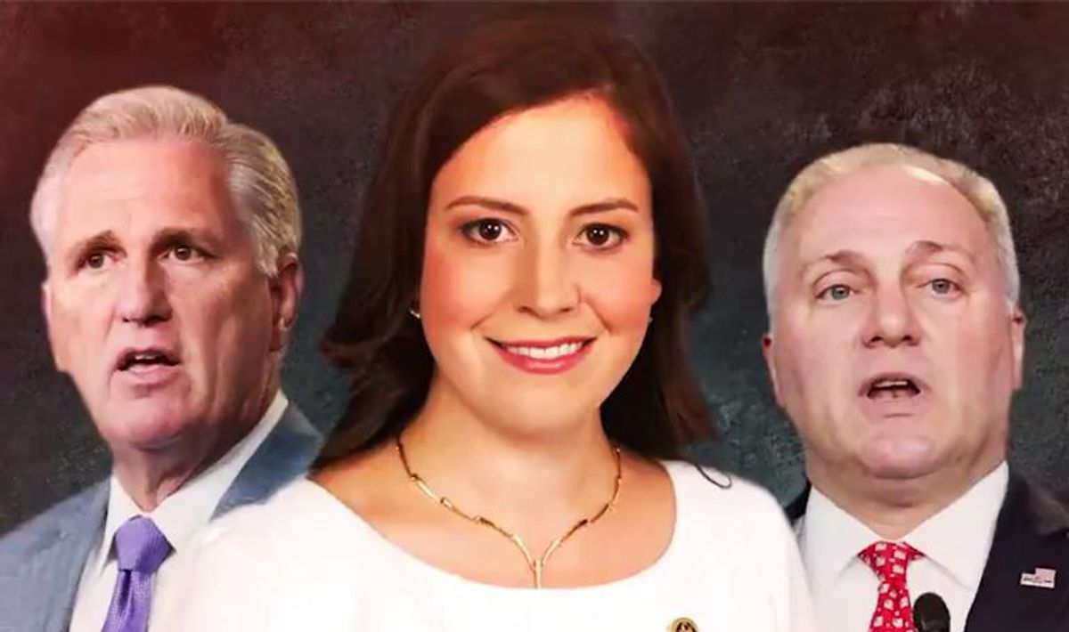 'Sad Trump apologist' Elise Stefanik buried in brutal new Lincoln Project ad