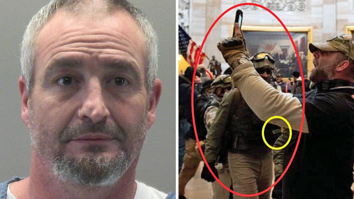 Arrested 'Oath Keeper' was 'preparing for literal war': prosecutor