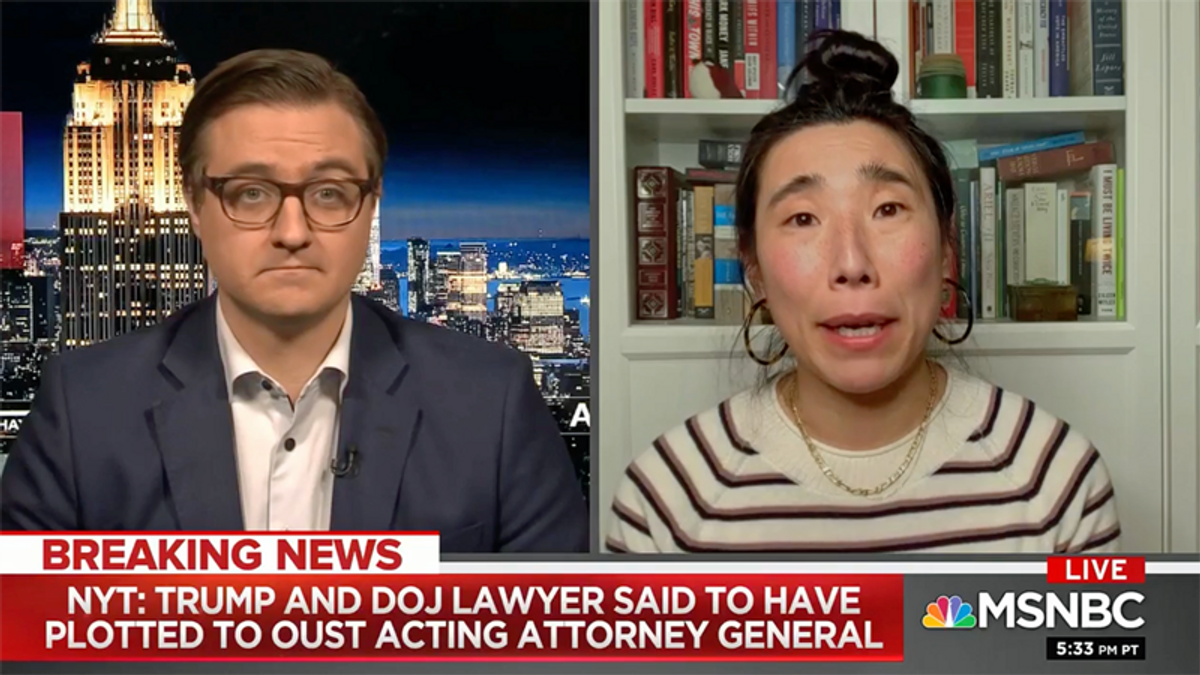 Watch NYT reporter explain bombshell report on Trump's attempted coup at the DOJ