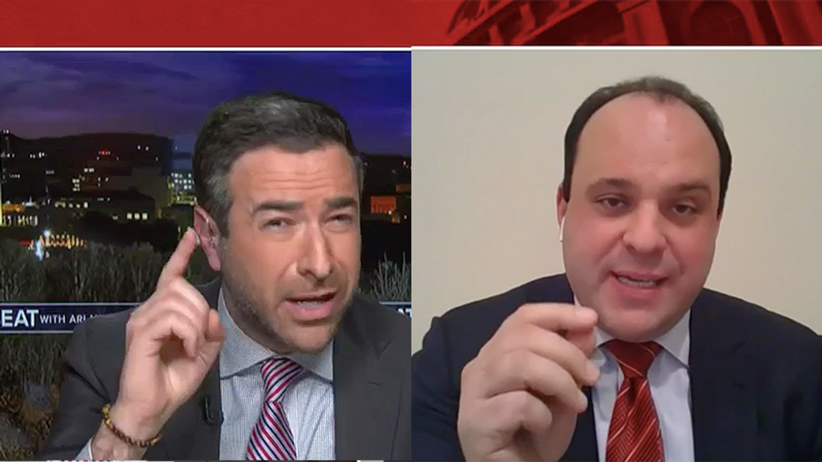 'You're out of order': Interview with Trump campaign official breaks down over insurrection excuses