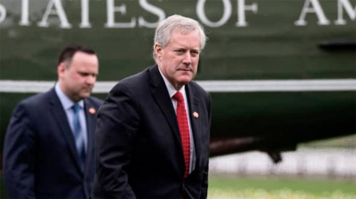 Mark Meadows lands a new job -- and will start looking for the next Josh Hawley or Ted Cruz