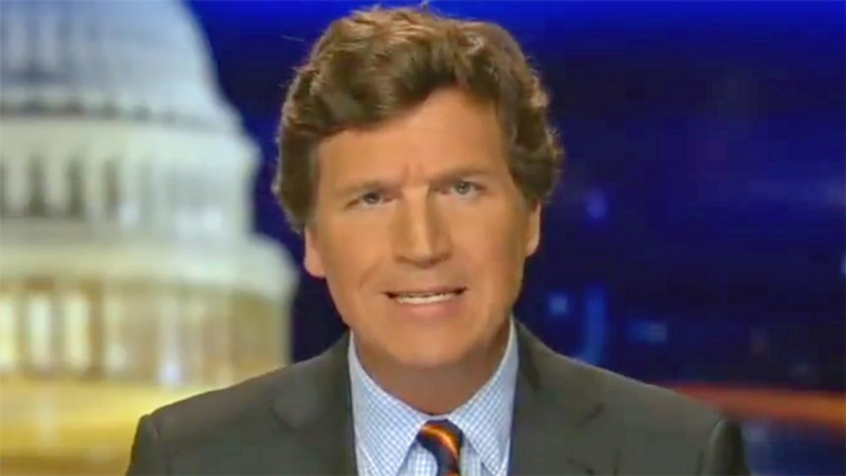Tucker Carlson calls Fox News 'heroic' for giving him more airtime as a 'commitment to honesty'