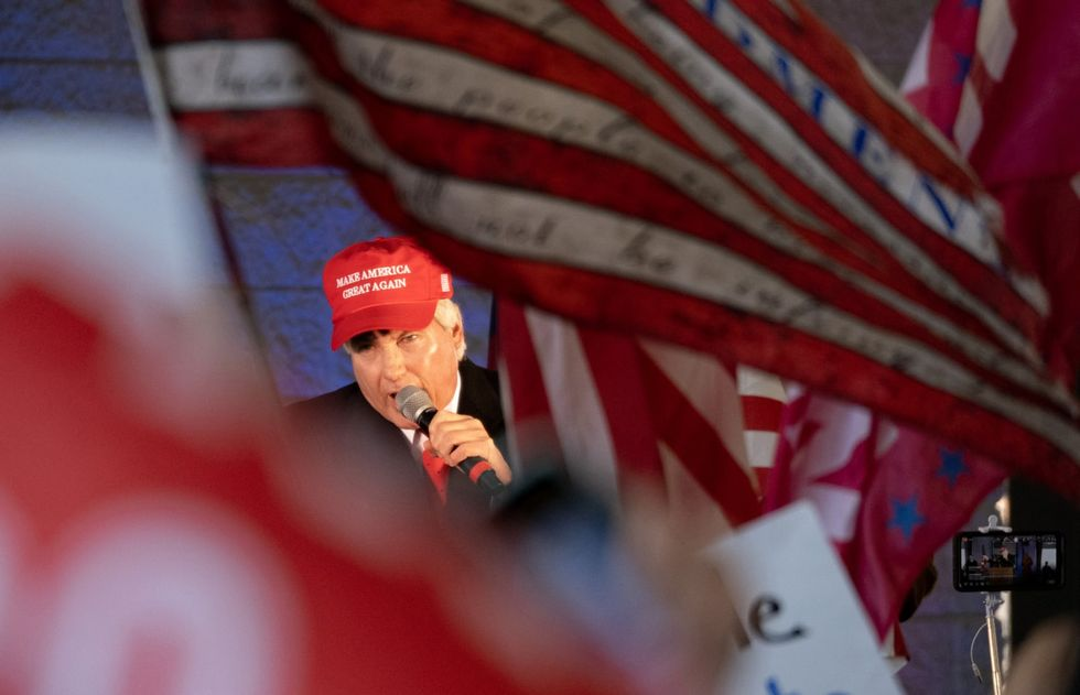 Tensions between Trump supporter Lin Wood and Georgia college boil over