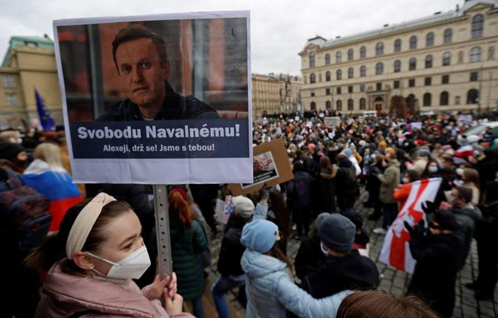 Jailed Kremlin foe Navalny being used by West to destabilize Russia: Putin ally