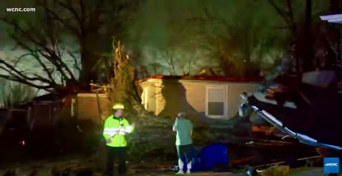 Tornado leaves one dead, several injured in Alabama