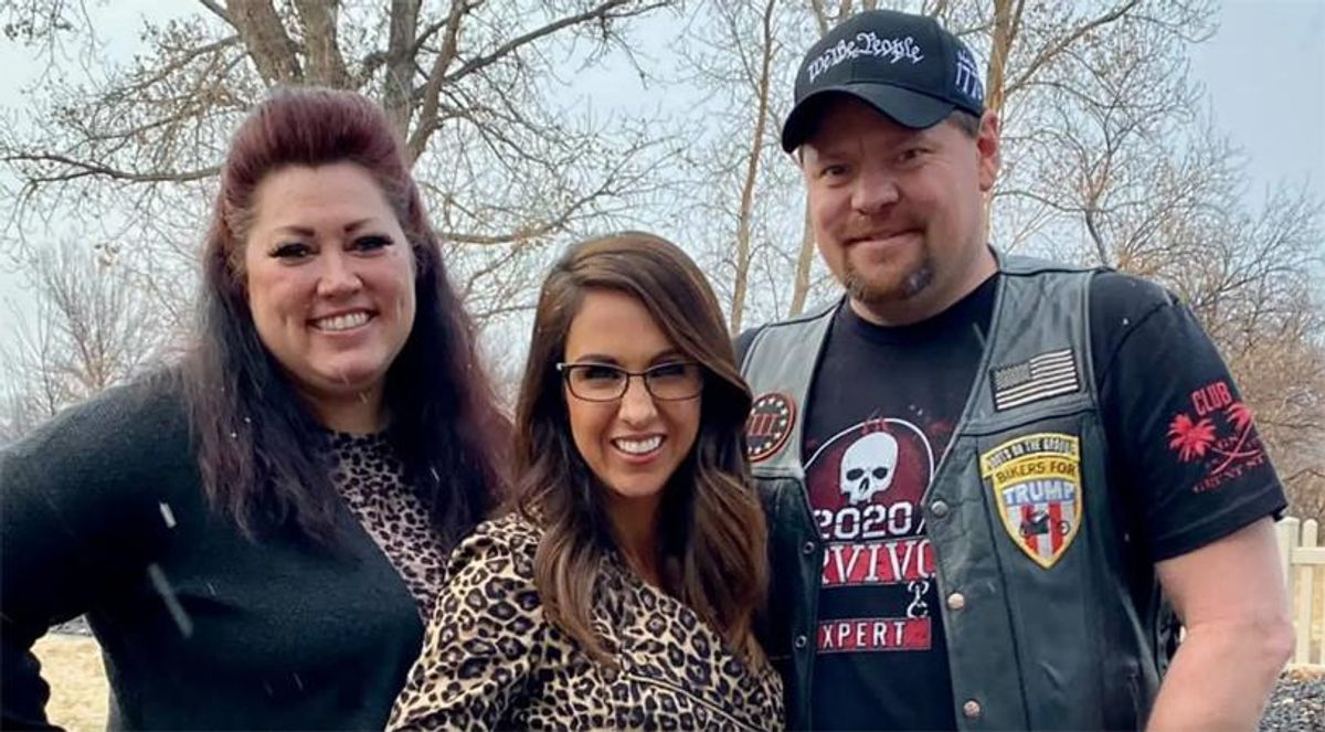 GOPer Boebert busted for claiming she 'didn't know' extremists she posed for pictures with