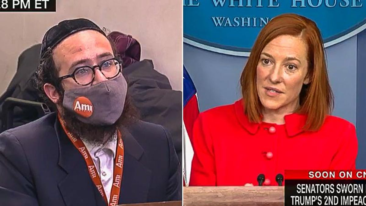 Psaki shoves '81 million' Biden voters down throat of reporter who is worried about '74 million' Trump voters
