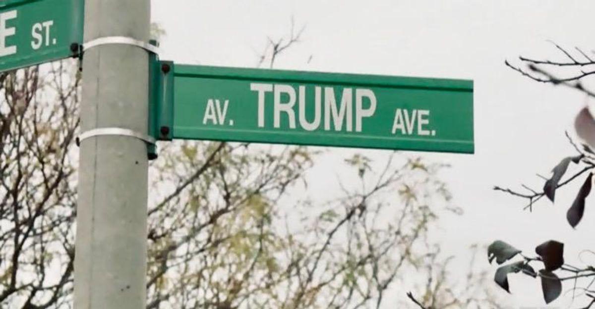 Ottawa residents seek to dump Trump street name