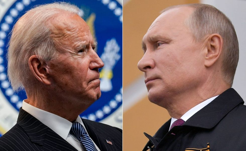 In their first call, Biden presses Putin on Navalny arrest, cyberattacks, bounties on US troops