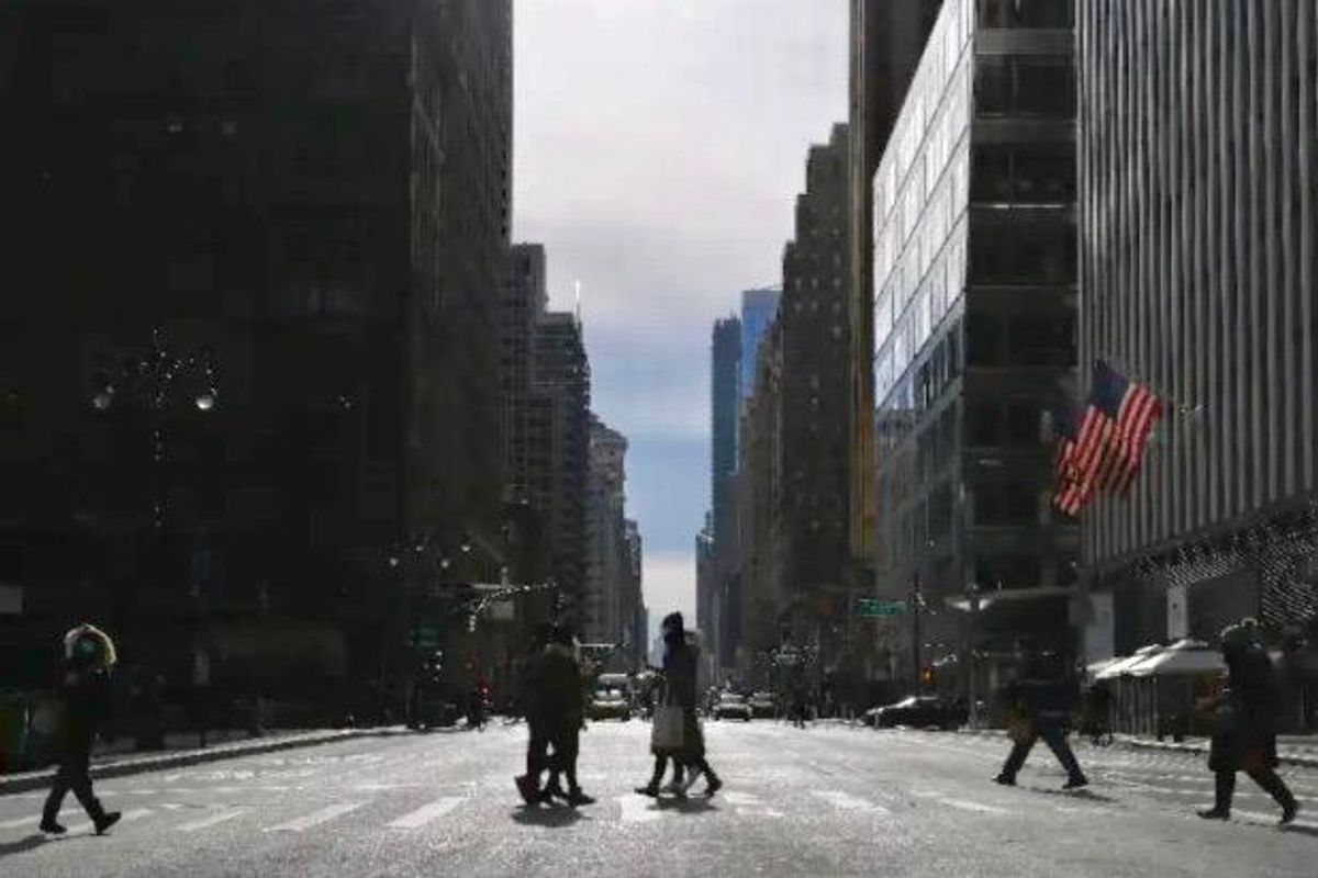The end of offices? New York's business districts face uncertain future