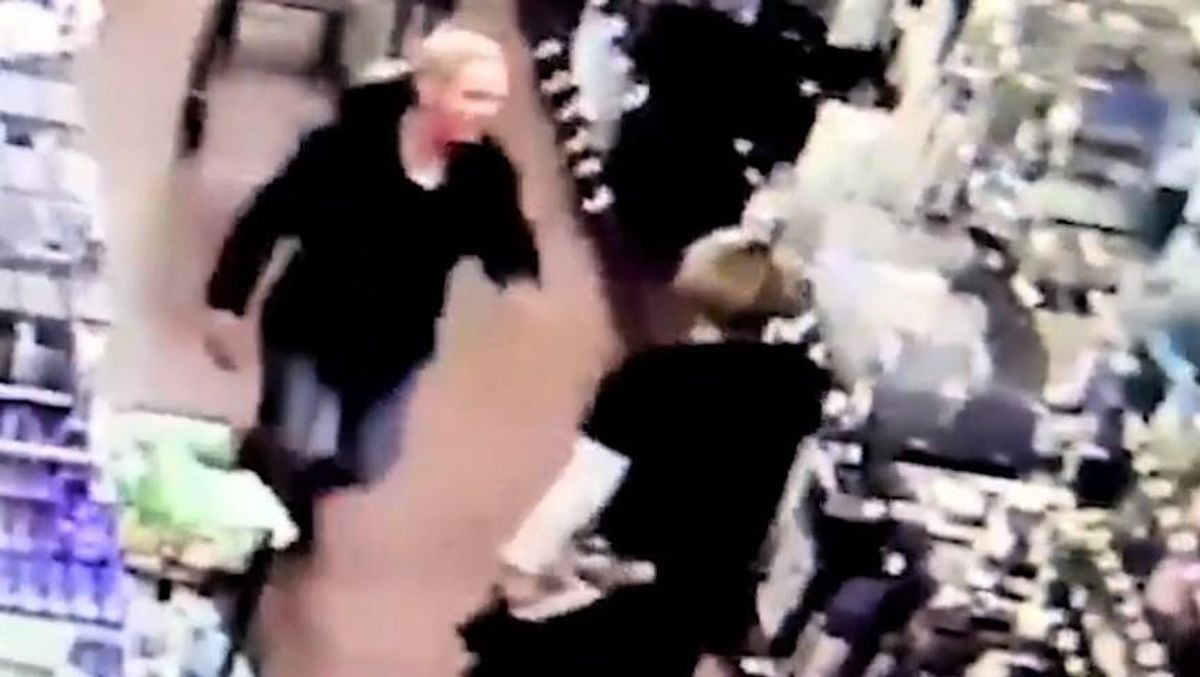 WATCH: Woman slaps grocery store employee who asked her to wear a mask
