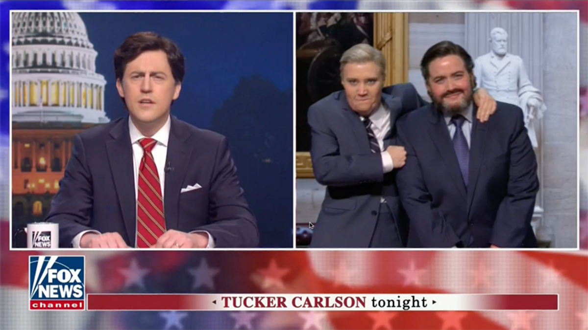 SNL takes on Fox News impeachment coverage -- and GOP senators celebrating Trump's acquittal