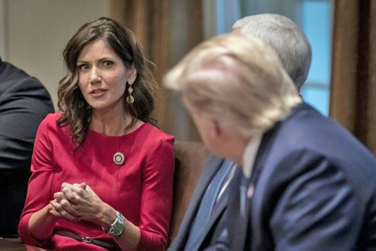 Why the right-wing is turning on Republican Gov. Kristi Noem