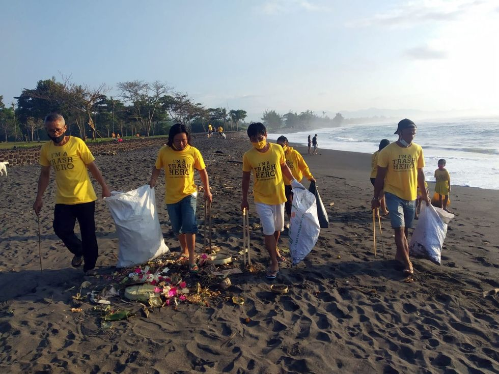 Bali's 'trash heroes' are cleaning up paradise, one beach at a time