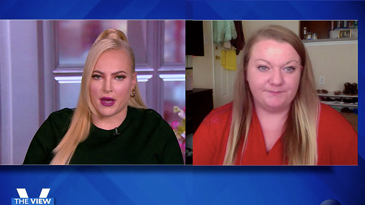 'Am I crazy?': Ex-QAnon believer tells The View how she went from a Republican to a radicalized conspiracist