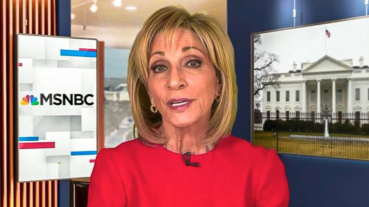 'You need to correct yourself': MSNBC viewers blast Andrea Mitchell repeatedly calling Trump 'the president'