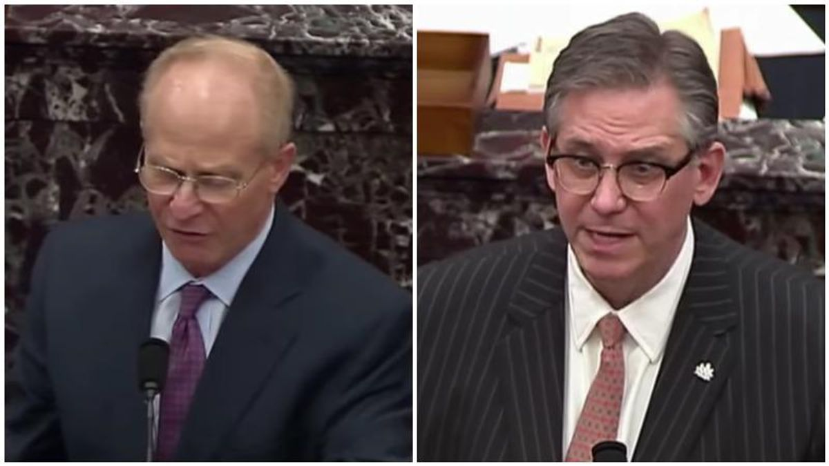 Trump impeachment lawyer David Schoen slams co-counsel Bruce Castor's incoherence: 'This guy's career is going to disappear'