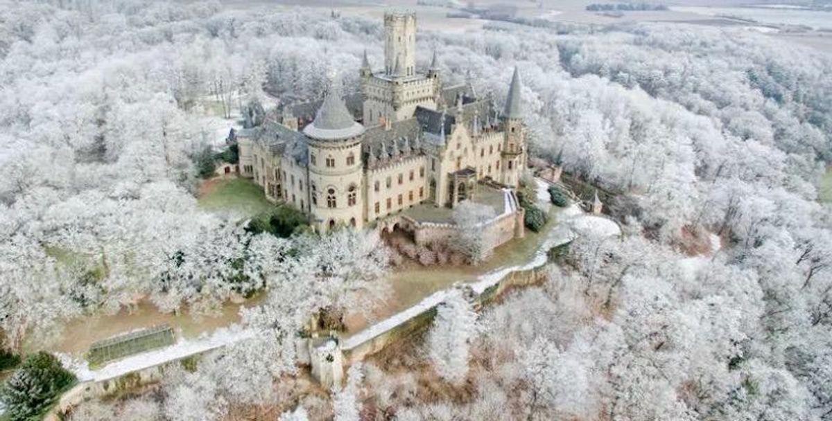 Princess Caroline's husband sues son over German castle