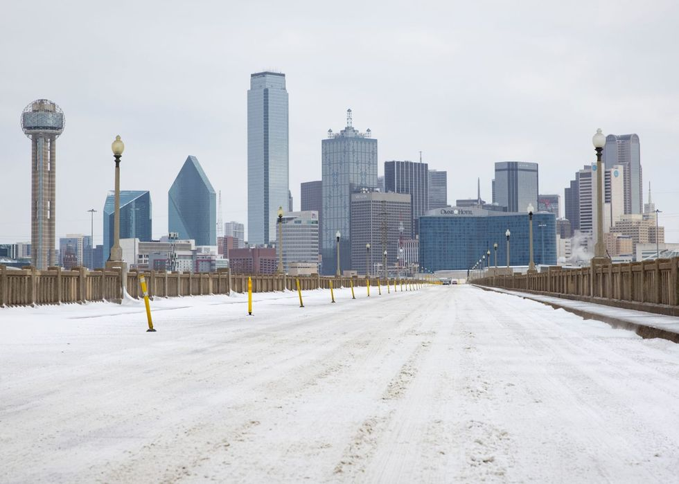 Much of Dallas-Fort Worth without power Tuesday amid record low temps, new winter storm warning
