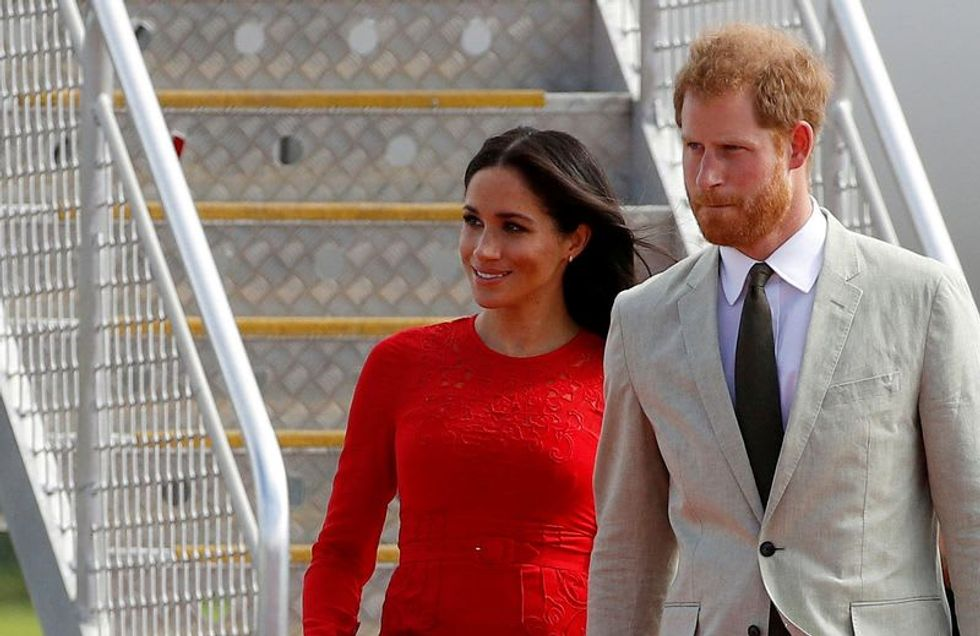 Harry and Meghan make final split with British royal family