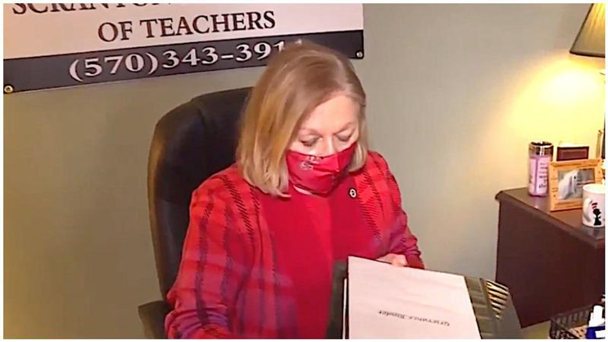 Teacher's union head suggests schools are unsafe to reopen because of Black and brown children