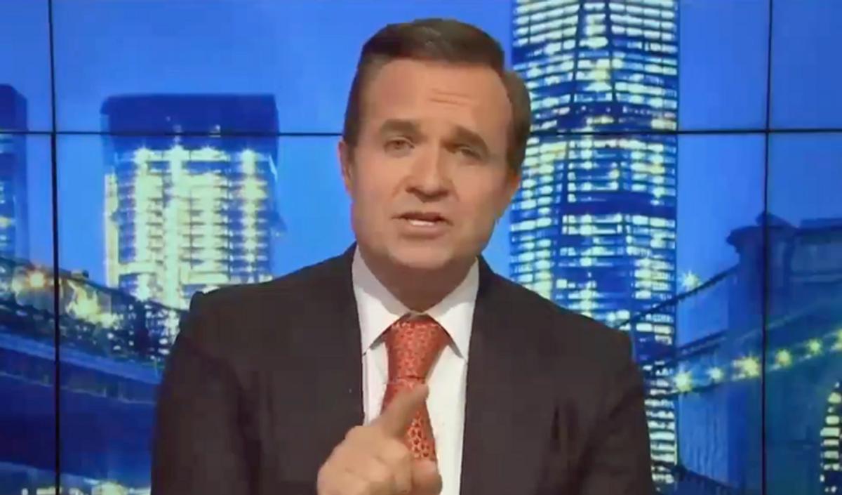 WATCH: Newsmax runs segment on Joe Biden neglecting his 'junkyard' dog