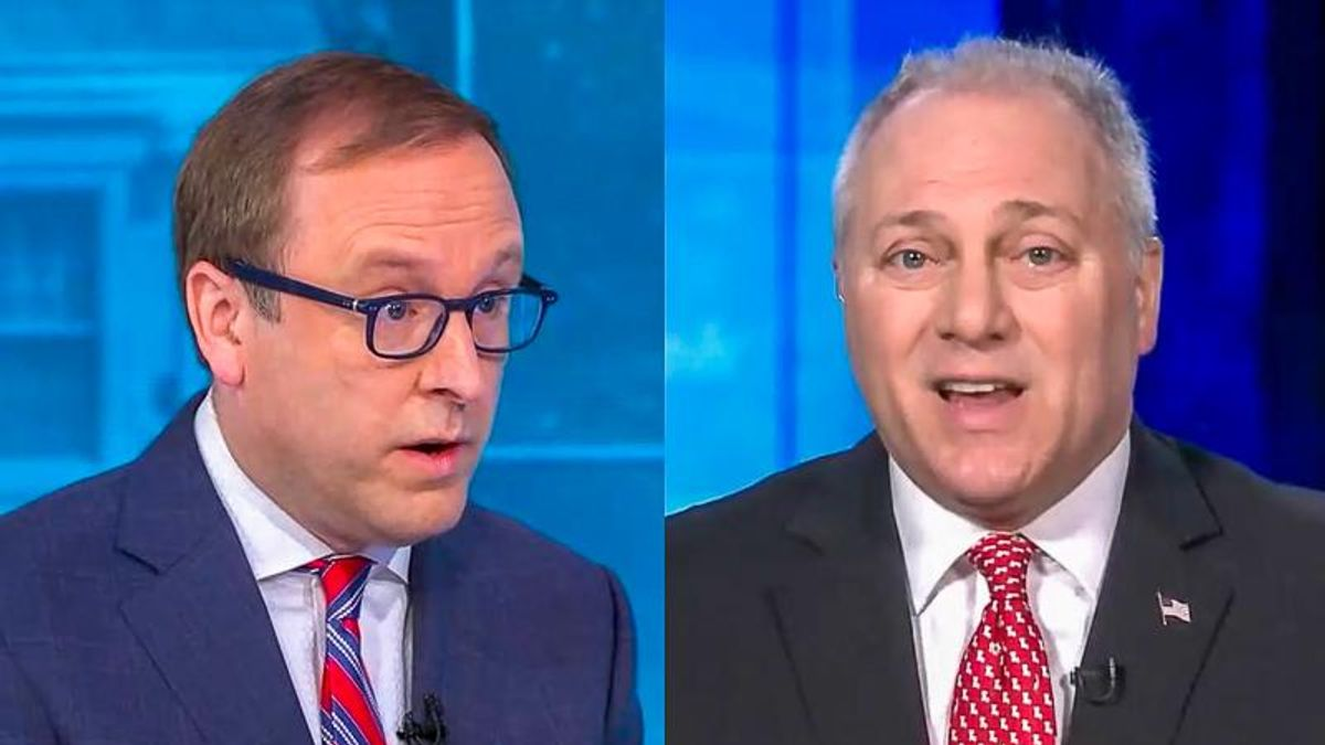 'Please, just answer it!' ABC host catches Steve Scalise shamelessly deflecting on Trump's role in attack