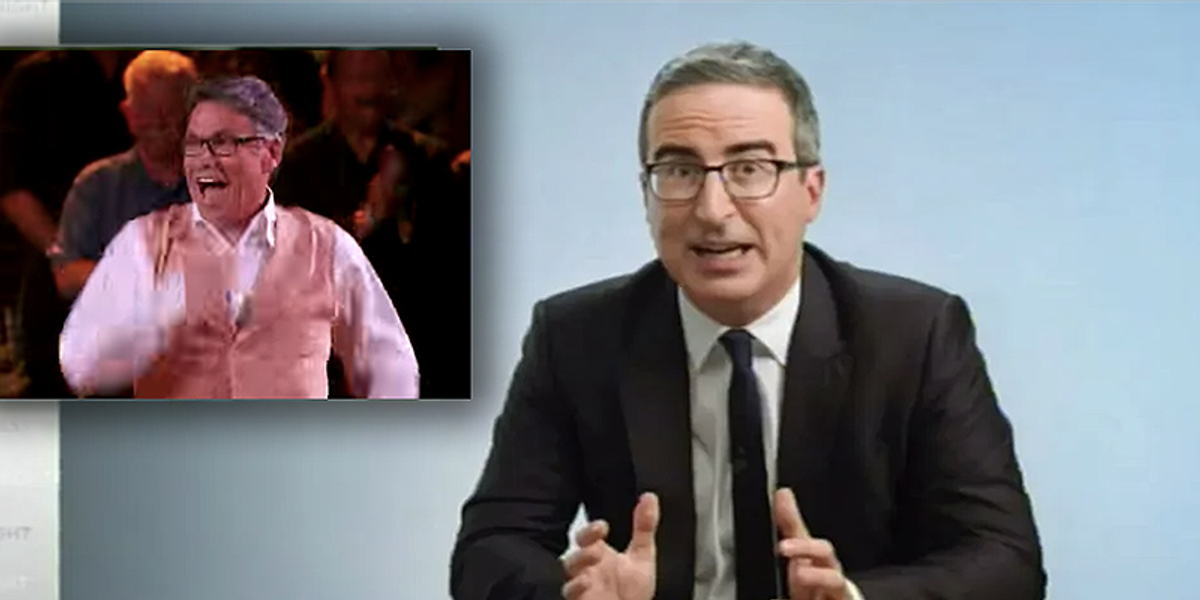 John Oliver destroys Texas Republicans from Ted Cruz, Fox News and Rick Perry in an epic takedown