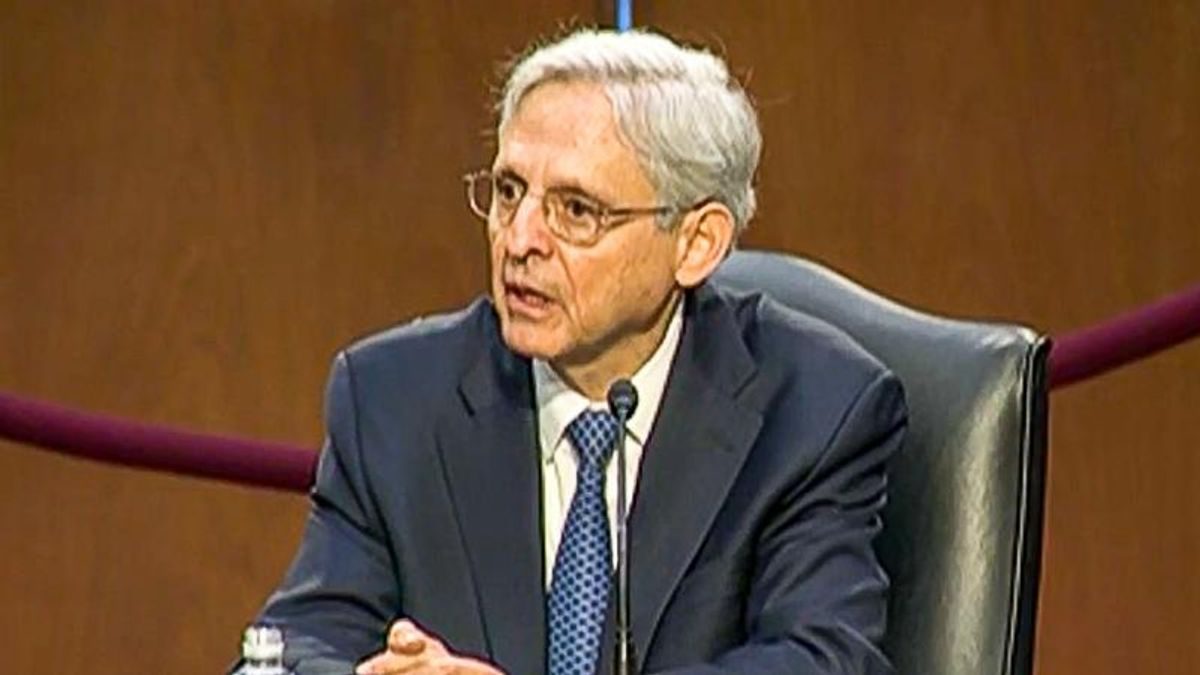 Merrick Garland: 'White supremacist groups to pose a fundamental threat to our democracy'