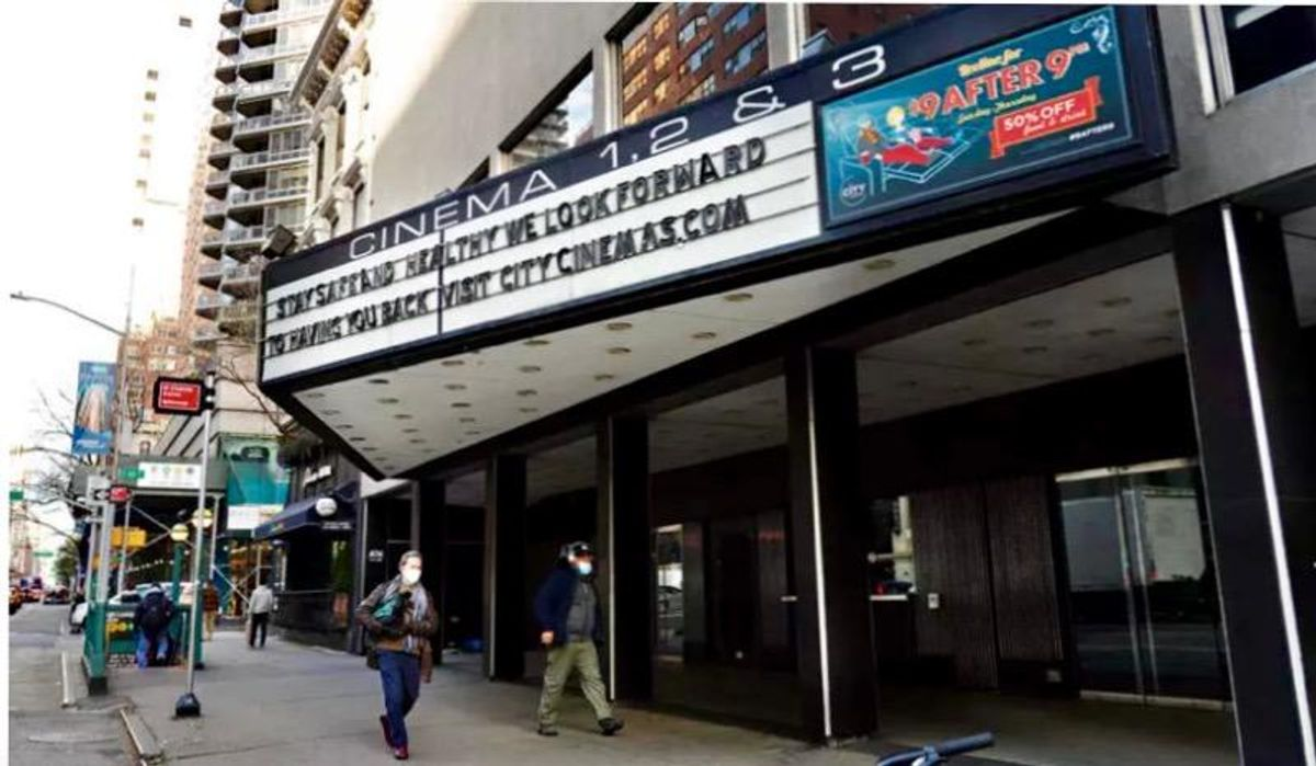 New York City movie theaters to reopen