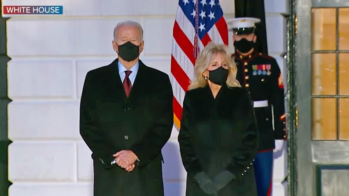 Biden calls US Covid-19 death toll 'heartbreaking' to mark 500,000 fatalities
