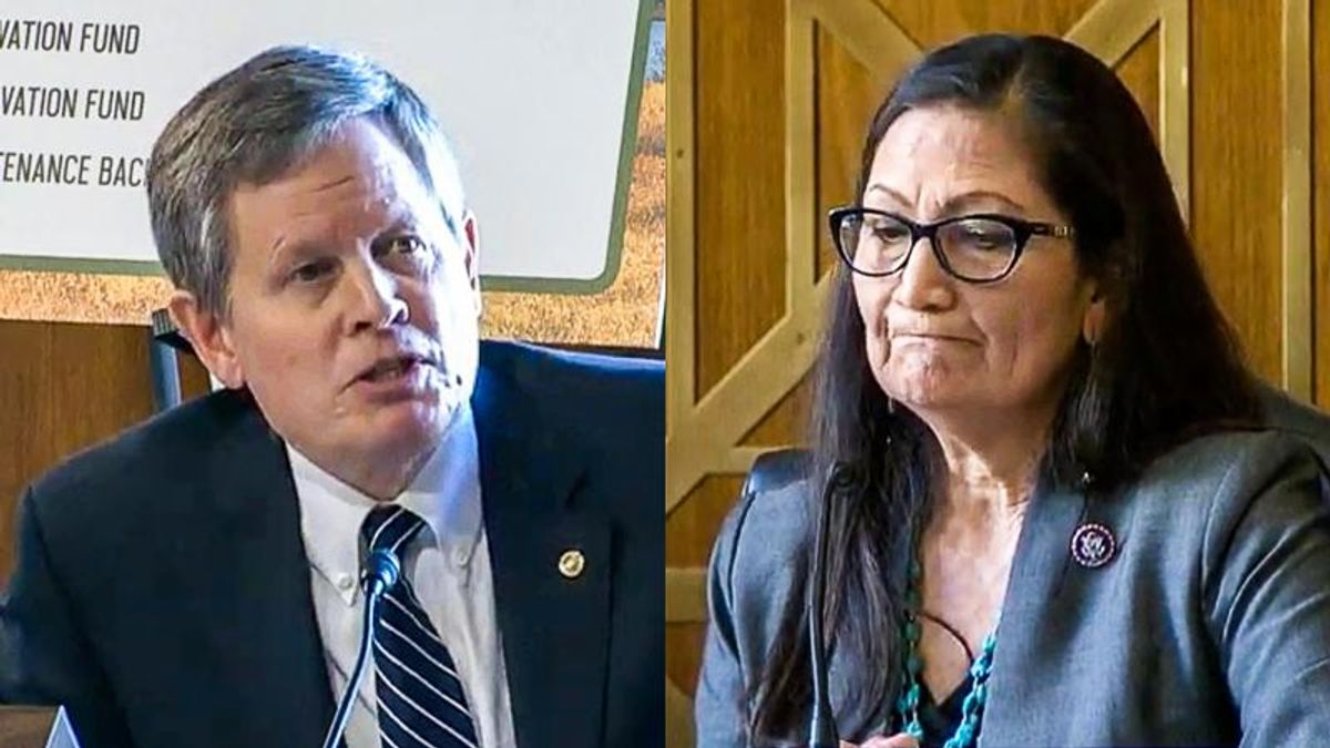 GOPer scolds first Native American cabinet nominee for causing 'more divisiveness'