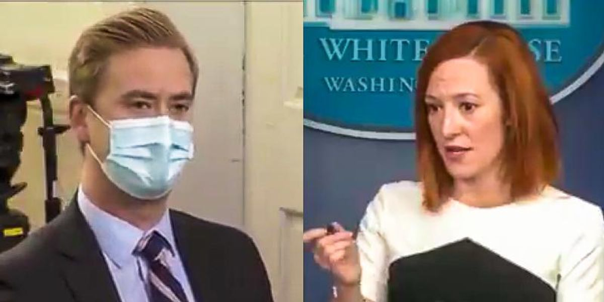 'This is not kids being kept in cages': Jen Psaki destroys Peter Doocy's gotcha question on migrant children