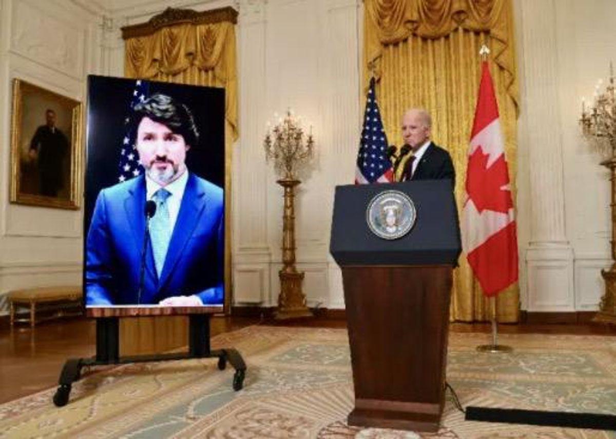 Biden, Trudeau renew strained US-Canadian ties