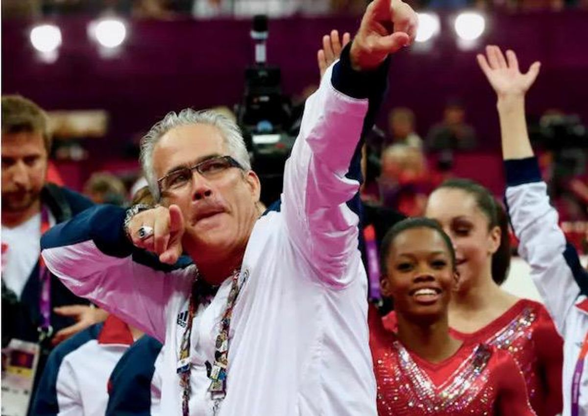 Former US Olympics gymnastics coach charged with sexual abuse