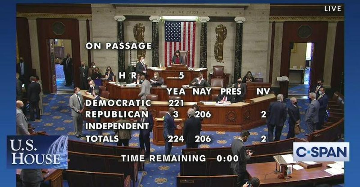 Democrats pass LGBTQ Equality Act with support of just three Republicans