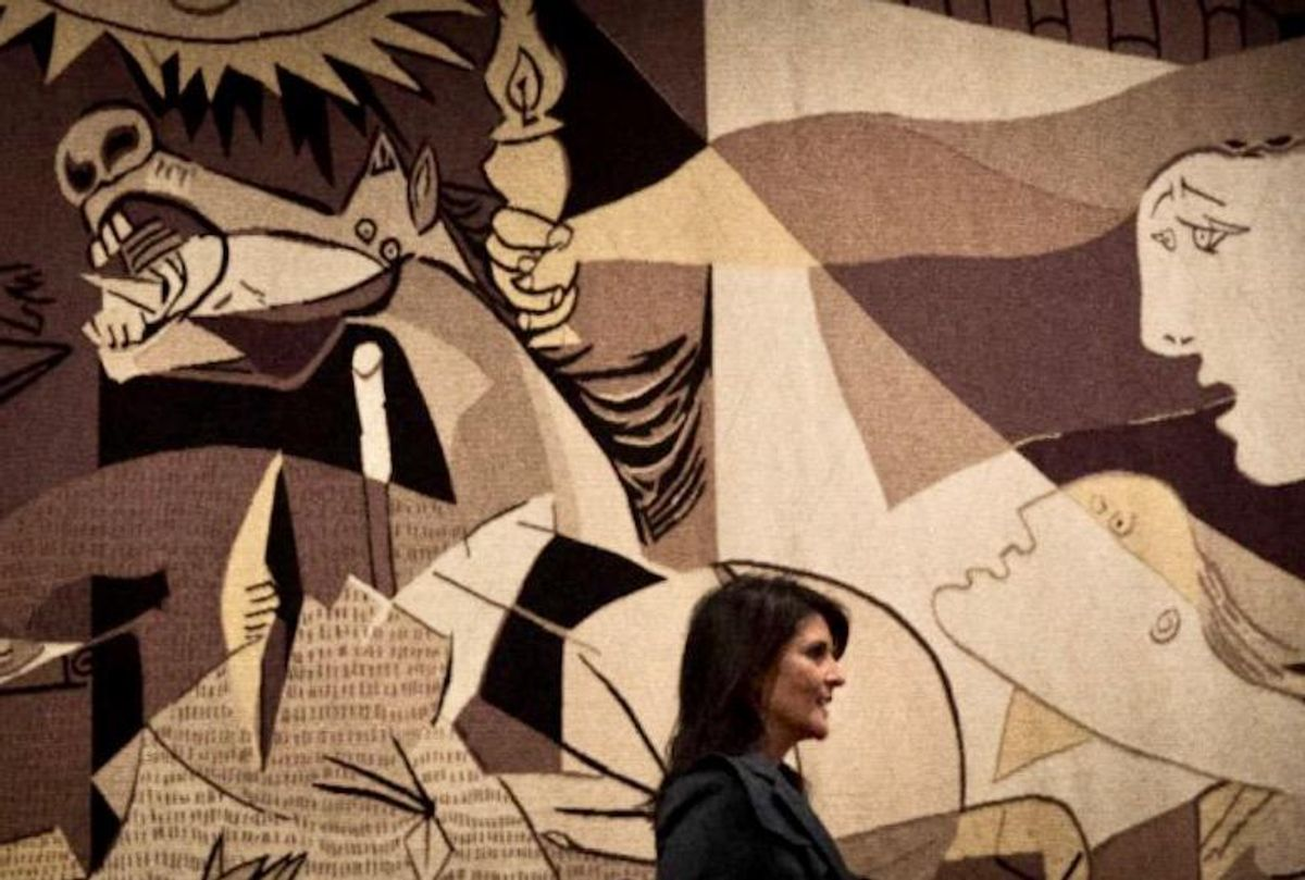 'Guernica' tapestry long on view at UN, no longer is