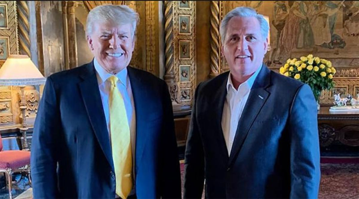 Morning Joe drops the hammer on 'gutless' Kevin McCarthy for pandering to disgraced Trump