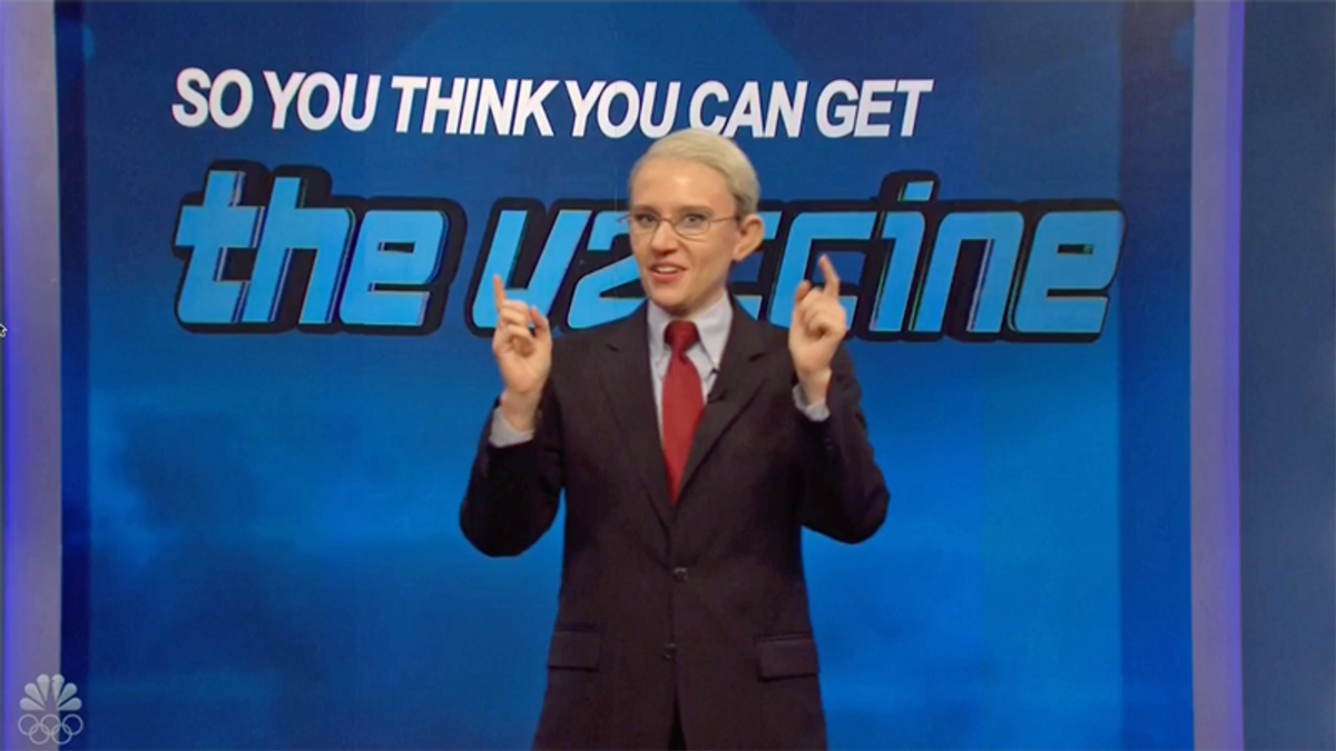 Ted Cruz appears on SNL's game show competition to see who gets a vaccine