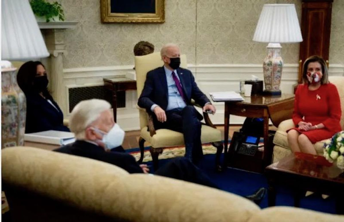 Republicans 'irked' as Biden moves on after they said 'no' to his stimulus package